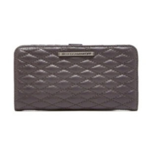 Rebecca Minkoff Sophie Snap Wallet New Grey